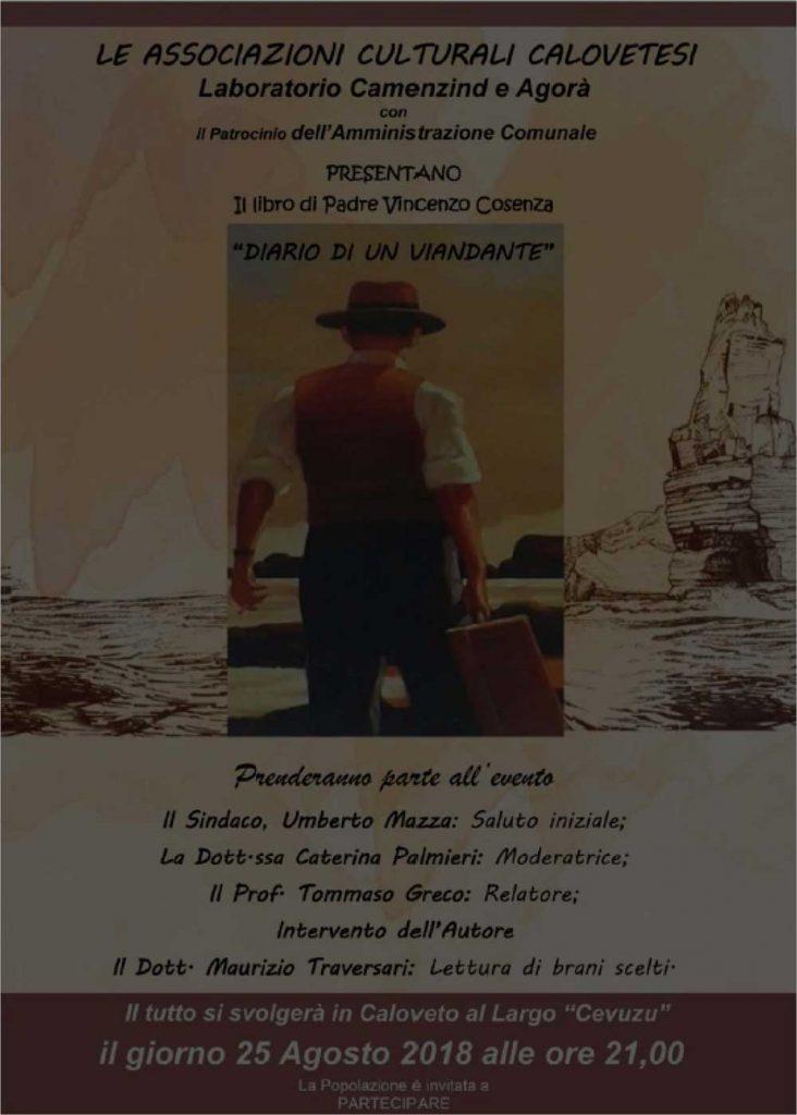 Presentación del libro del último libro del P. Vincenzo Cosenza, C.R., en su ciudad.