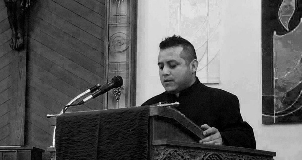 Primera Profesión religiosa del novicio Carlos Hernández, de la Provincia Teatina de los