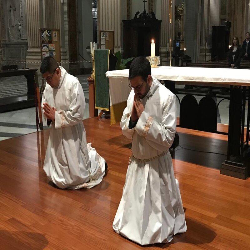 Istituzione del Lettorato ai Fratelli David e Julián, CCRR a Sant'Andrea Della