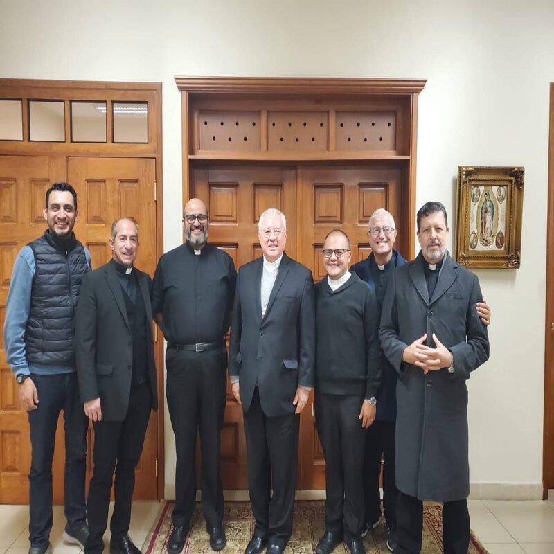 Reunião com S.E.R. Cardeal José Francisco Robles, Arcebispo de Guadalajara