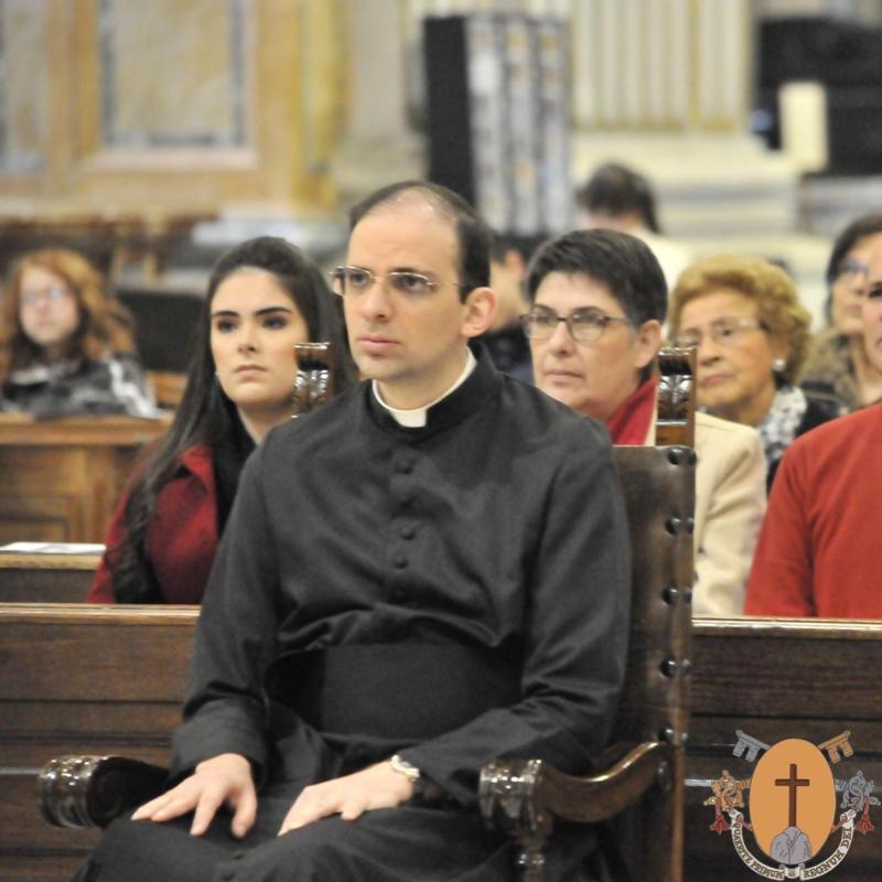 Ordenación Diaconal del Hno. João Víctor dos Santos Silva, C.R., originario de la
