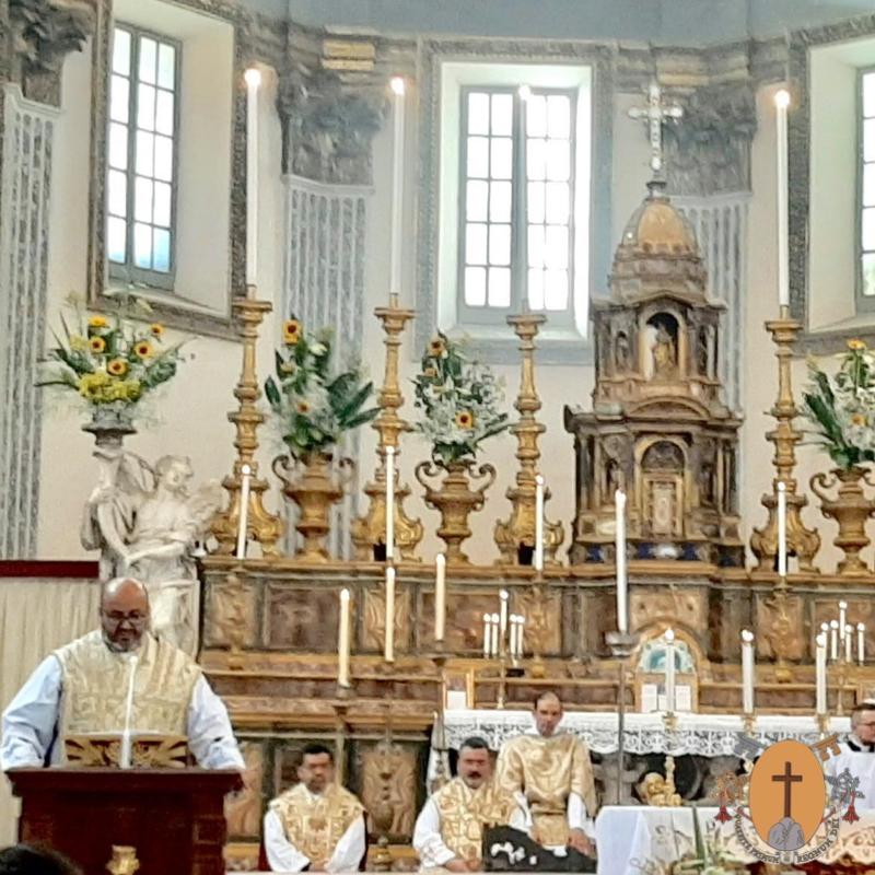 Homélie du Père Général, Rvdmo. Père Salvador Rodea González, CR, à l'occasion de