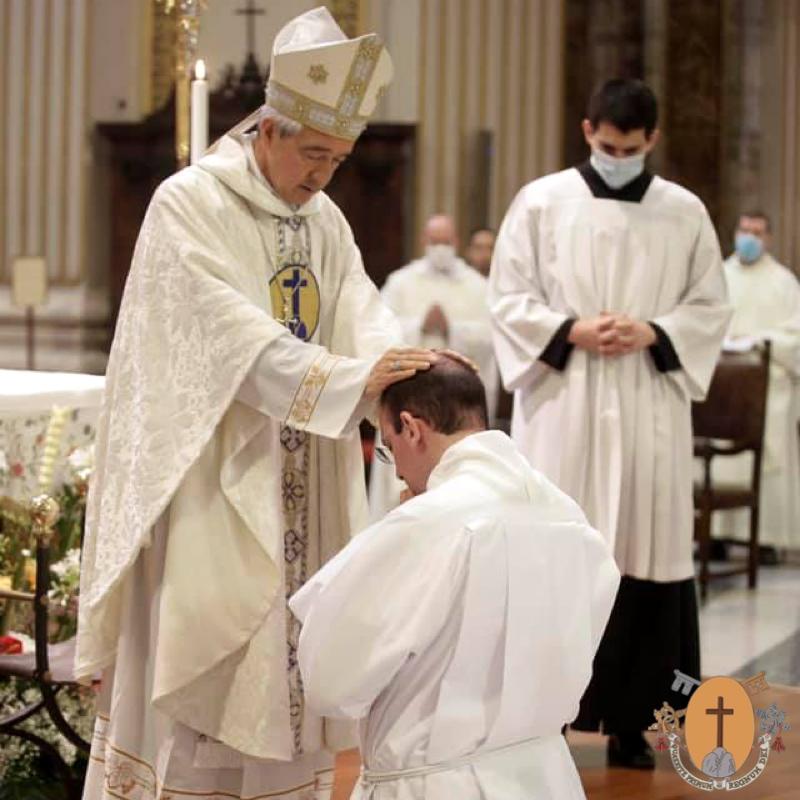 Ordinazione diaconale del fratello João Víctor Dos Santos Silva, C.R.