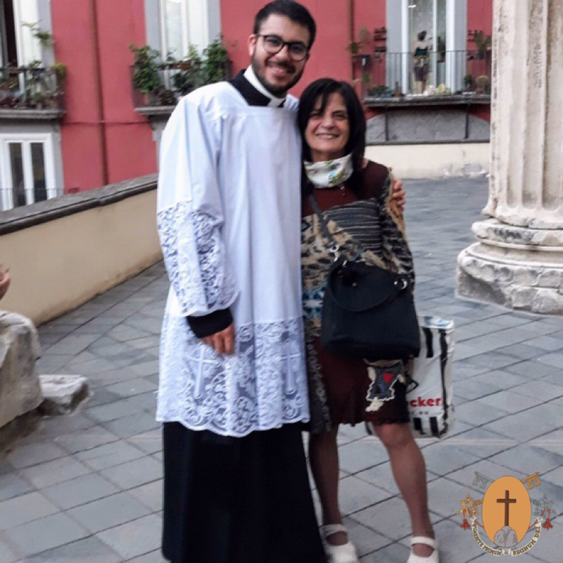 Brother Héctor Del Río Piña, C.R., on the trail of priestly formation