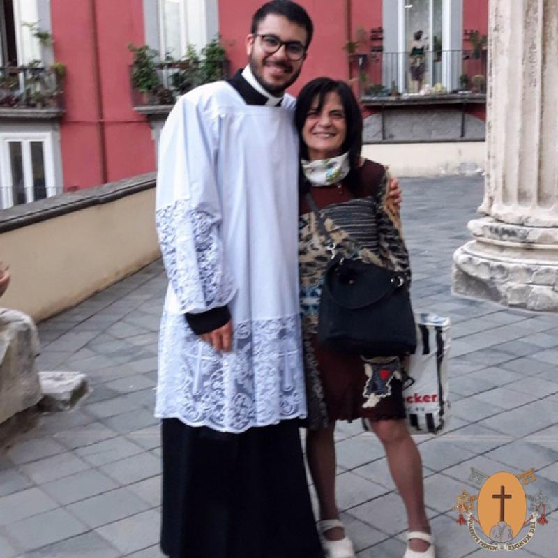 Hno. Héctor Del Río Piña, C.R., en el sendero de la formación sacerdotal
