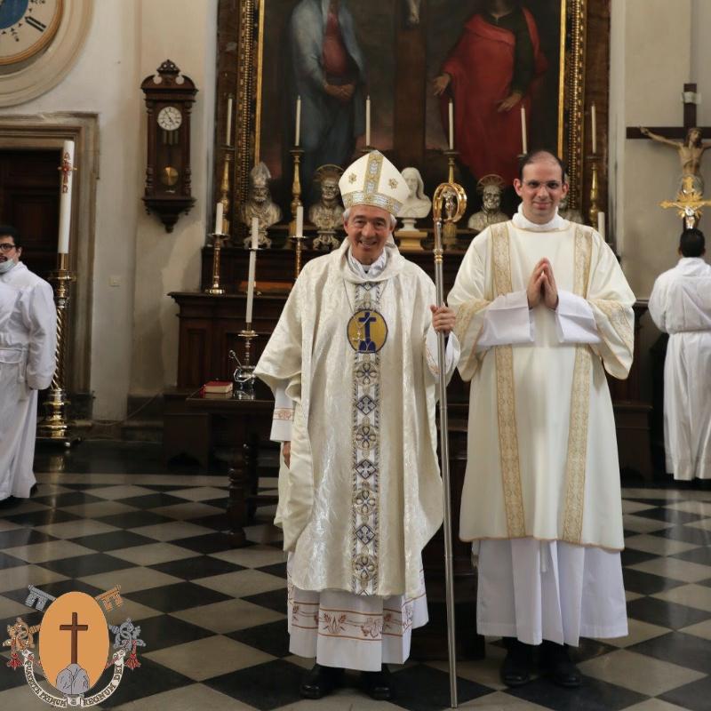 Ordinazione presbiterale di R. Deacon J. Víctor Dos Santos Silva, C.R.