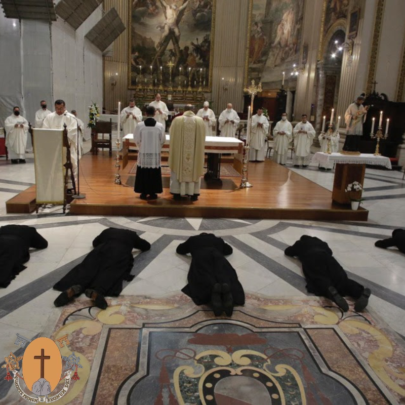 Souvenirs de profession solennelle Sant'Andrea della Valle, 7 août 2020