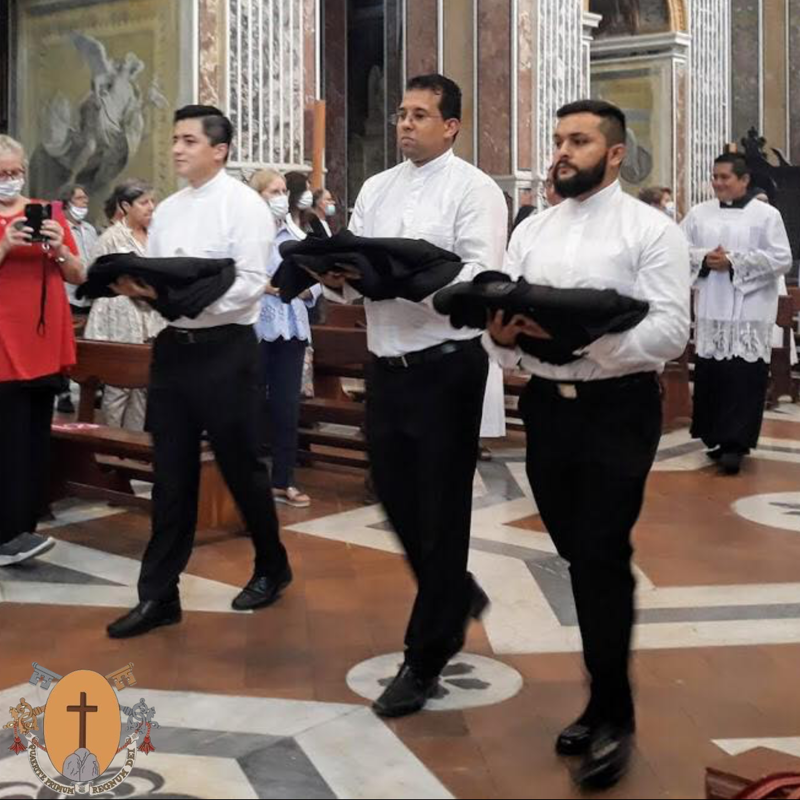 September 14, 2020: Three theatine religious professions in Naples