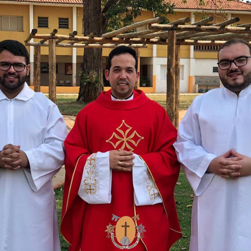 El 14 de septiembre de 2020 han iniciado su noviciado dos postulantes brasileños.